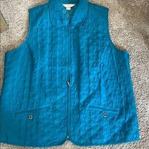 CJ Banks quilted vest